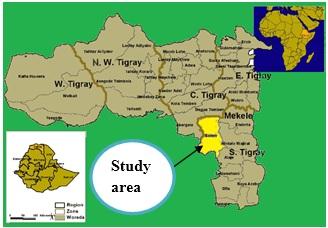 Study area (Saharti-samre district)