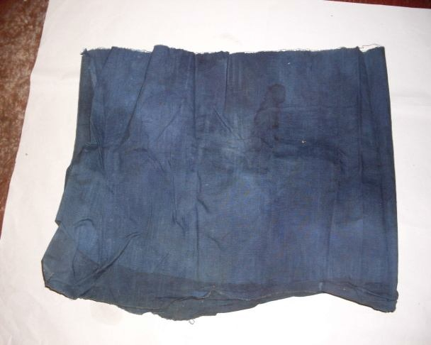 "Photograph showing ""Waji's cloth"" one of the ingredients used in the treatment of piles in Oyo State"
